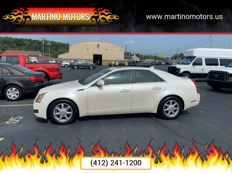 2009 Cadillac CTS for sale at Martino Motors in Pittsburgh PA
