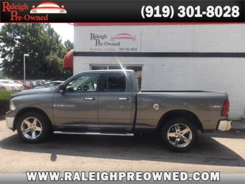 2012 RAM Ram Pickup 1500 for sale at Raleigh Pre-Owned in Raleigh NC