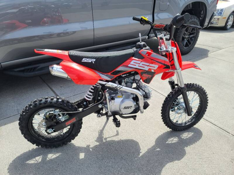 2021 SSR 125 for sale at WolfPack PowerSports in Moses Lake WA