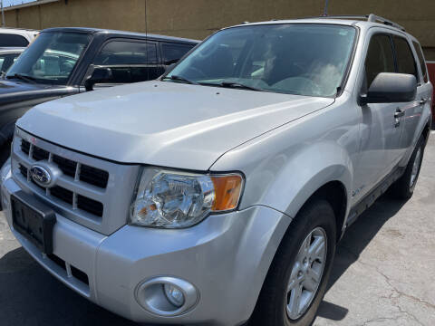 2010 Ford Escape Hybrid for sale at CARZ in San Diego CA