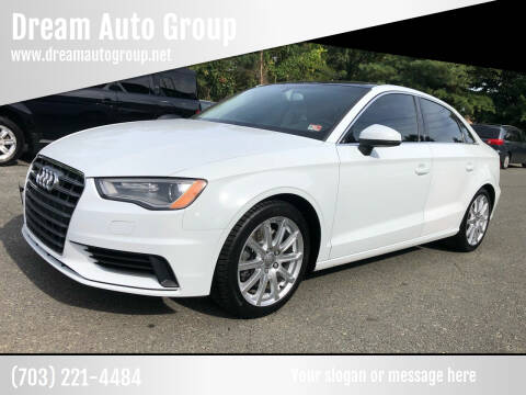 2015 Audi A3 for sale at Dream Auto Group in Dumfries VA