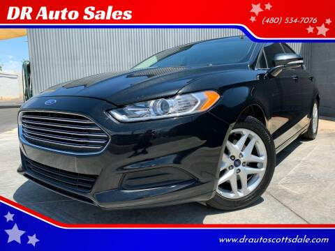 2015 Ford Fusion for sale at DR Auto Sales in Scottsdale AZ