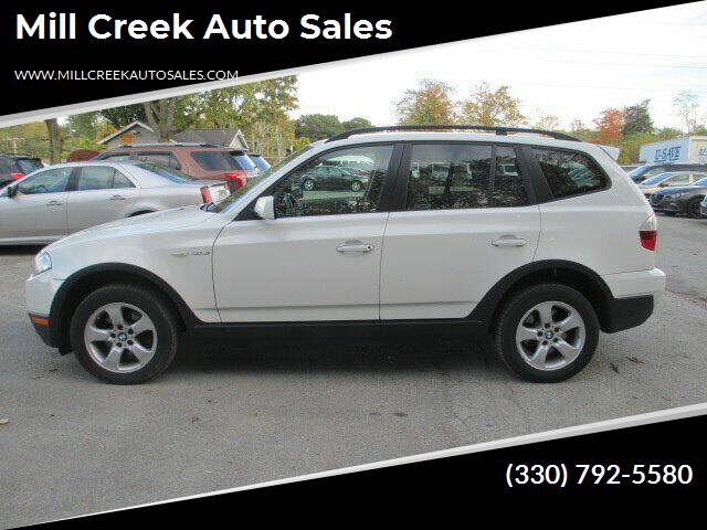 2008 BMW X3 for sale at Mill Creek Auto Sales in Youngstown OH