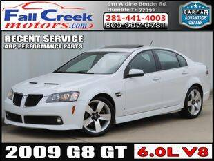 2009 Pontiac G8 for sale at Fall Creek Motor Cars in Humble TX