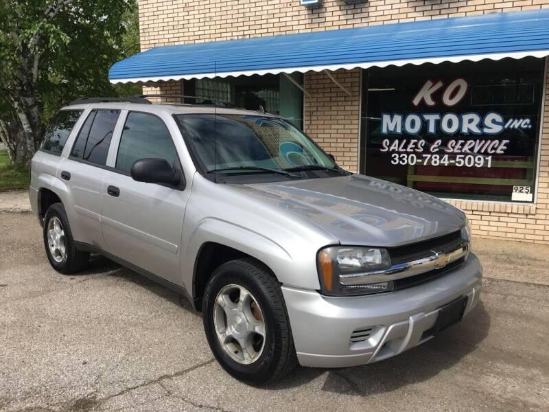2006 Chevrolet TrailBlazer for sale at K O Motors in Akron OH