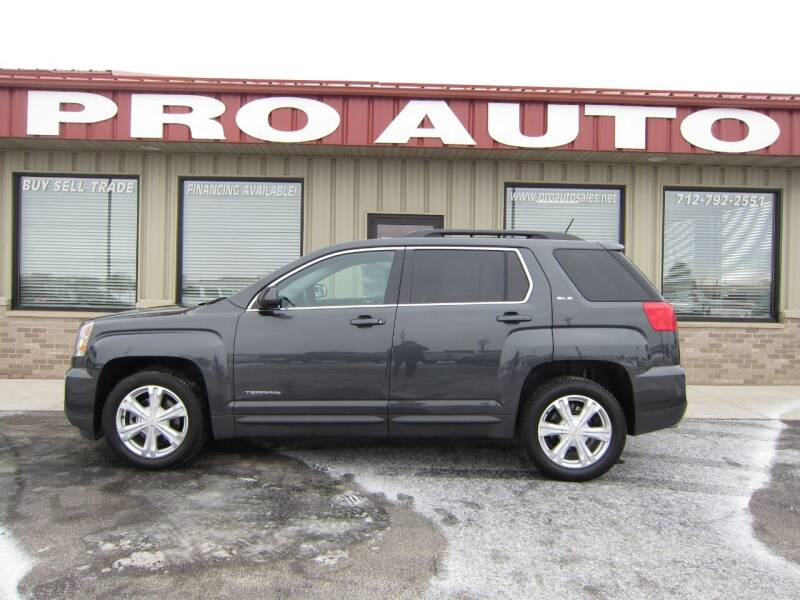 2017 GMC Terrain for sale at Pro Auto Sales in Carroll IA
