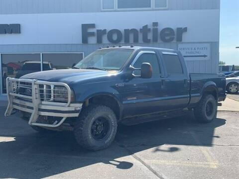 2004 Ford F-250 Super Duty for sale at Frontier Motors Automotive, Inc. in Winner SD