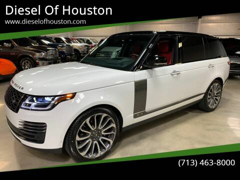 2020 Land Rover Range Rover for sale at Diesel Of Houston in Houston TX