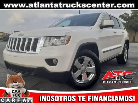 2012 Jeep Grand Cherokee for sale at ATLANTA TRUCK CENTER LLC in Brookhaven GA