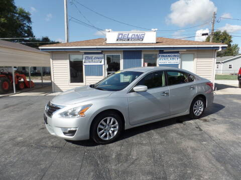 2013 Nissan Altima for sale at DeLong Auto Group in Tipton IN
