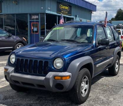 2003 Jeep Liberty for sale at CAR VIPS ORLANDO LLC in Orlando FL