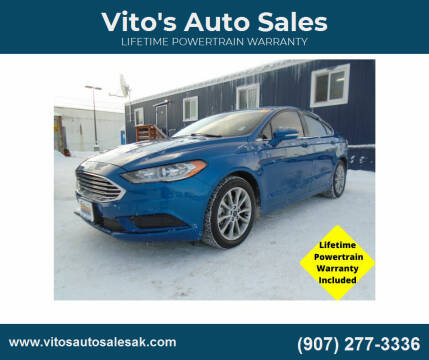 2017 Ford Fusion for sale at Vito's Auto Sales in Anchorage AK