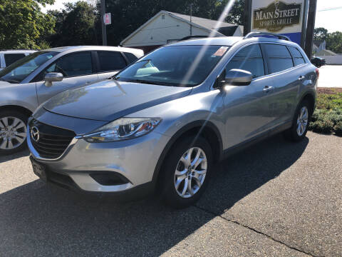 2014 Mazda CX-9 for sale at Barga Motors in Tewksbury MA