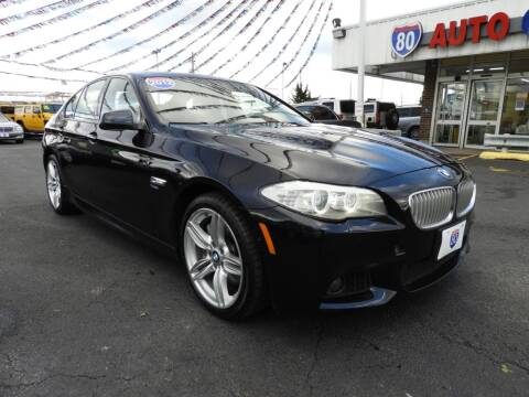 2012 BMW 5 Series for sale at I-80 Auto Sales in Hazel Crest IL