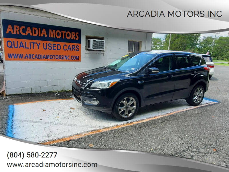 2013 Ford Escape for sale at ARCADIA MOTORS INC in Heathsville VA