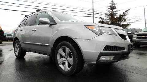 2011 Acura MDX for sale at Action Automotive Service LLC in Hudson NY
