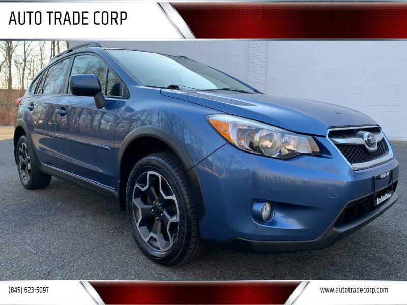 2014 Subaru XV Crosstrek for sale at AUTO TRADE CORP in Nanuet NY