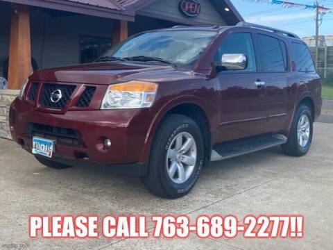 2011 Nissan Armada for sale at Affordable Auto Sales in Cambridge MN