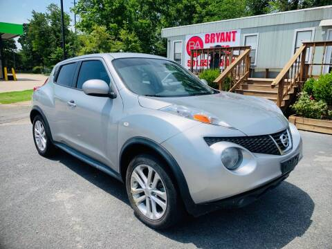 2012 Nissan JUKE for sale at BRYANT AUTO SALES in Bryant AR
