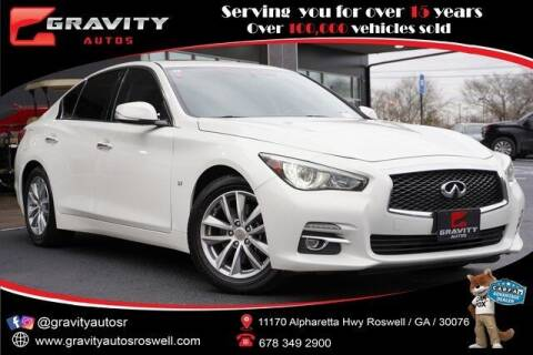2015 Infiniti Q50 for sale at Gravity Autos Roswell in Roswell GA