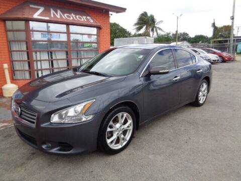 2013 Nissan Maxima for sale at Z Motors in North Lauderdale FL