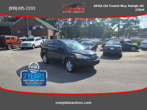 2011 Honda CR-V for sale at Complete Auto Center , Inc in Raleigh NC