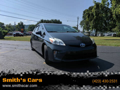 2012 Toyota Prius for sale at Smith's Cars in Elizabethton TN