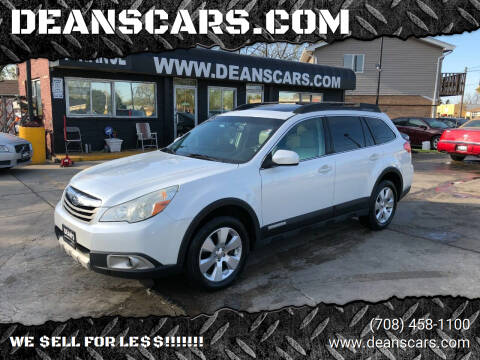 2011 Subaru Outback for sale at DEANSCARS.COM in Bridgeview IL