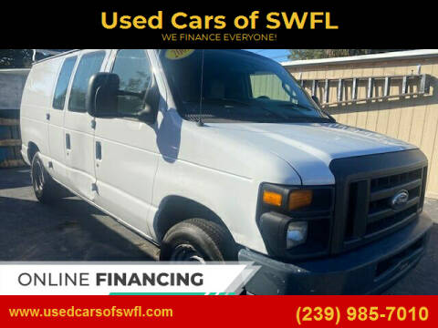 2009 Ford E-Series Cargo for sale at Used Cars of SWFL in Fort Myers FL