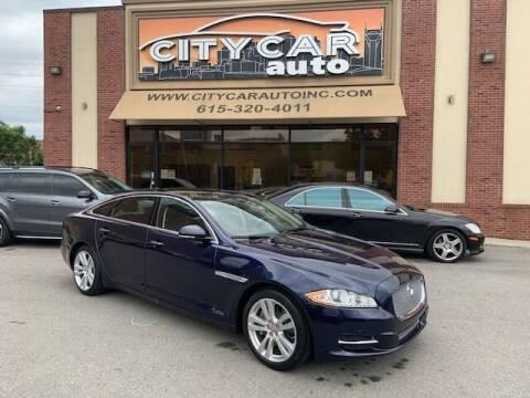 2014 Jaguar XJL for sale at CITY CAR AUTO INC in Nashville TN