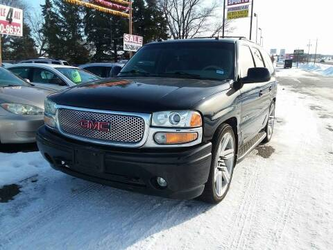 2003 GMC Yukon for sale at Affordable 4 All Auto Sales in Elk River MN
