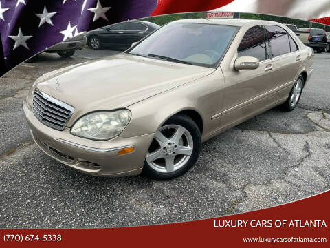 2005 Mercedes-Benz S-Class for sale at Luxury Cars of Atlanta in Snellville GA