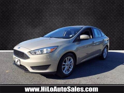2016 Ford Focus for sale at Hi-Lo Auto Sales in Frederick MD