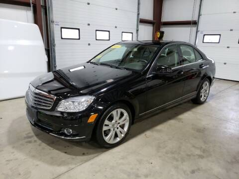 2010 Mercedes-Benz C-Class for sale at Hometown Automotive Service & Sales in Holliston MA