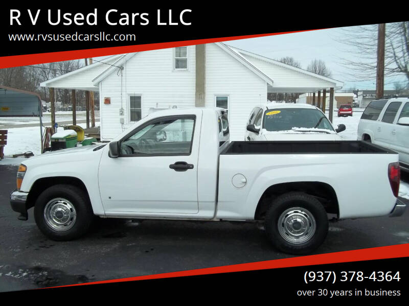 2008 Chevrolet Colorado for sale at R V Used Cars LLC in Georgetown OH