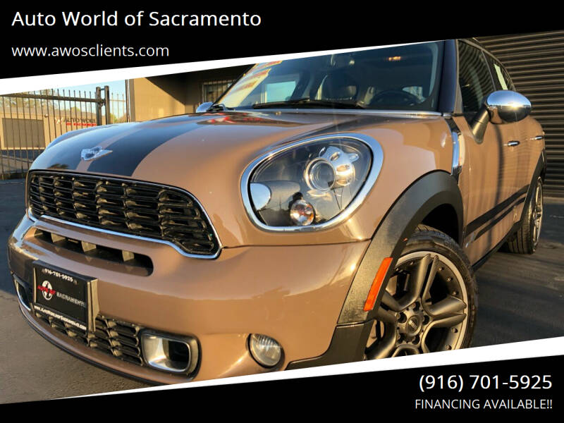 2012 MINI Cooper Countryman for sale at Auto World of Sacramento Stockton Blvd in Sacramento CA