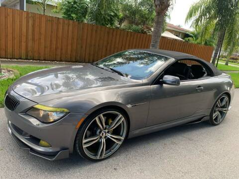 2010 BMW M6 for sale at FINANCIAL CLAIMS & SERVICING INC in Hollywood FL