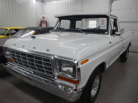 1979 Ford F-100 for sale at Custom Rods and Muscle in Celina OH