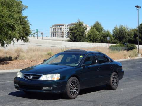 2002 Acura TL for sale at Crow`s Auto Sales in San Jose CA