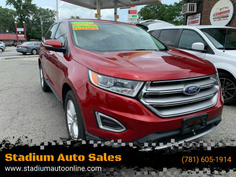 2015 Ford Edge for sale at Stadium Auto Sales in Everett MA