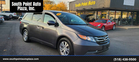 2016 Honda Odyssey for sale at South Point Auto Plaza, Inc. in Albany NY