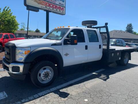 2015 Ford F-550 Super Duty for sale at South Commercial Auto Sales in Salem OR