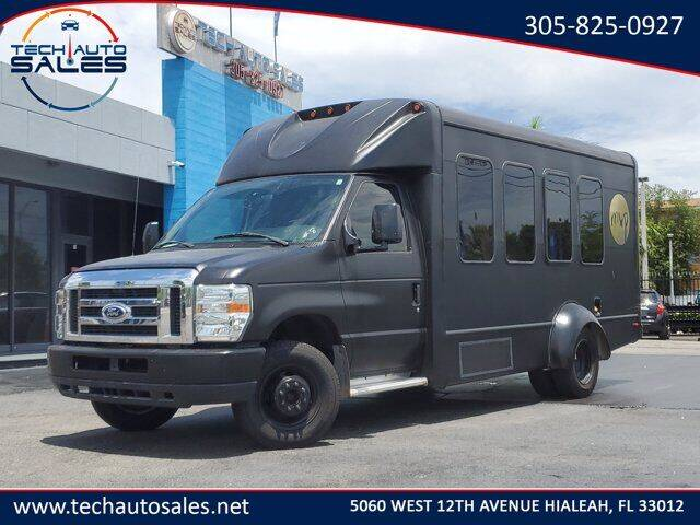 2015 Ford E-Series Chassis for sale at Tech Auto Sales in Hialeah FL