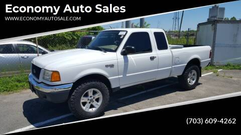 2003 Ford Ranger for sale at Economy Auto Sales in Dumfries VA