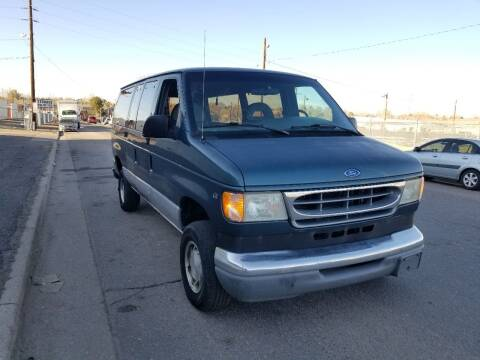 1997 Ford E-150 for sale at Red Rock's Autos in Denver CO