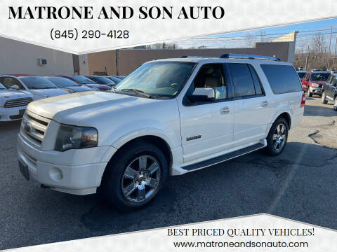 2007 Ford Expedition EL for sale at Matrone and Son Auto in Tallman NY