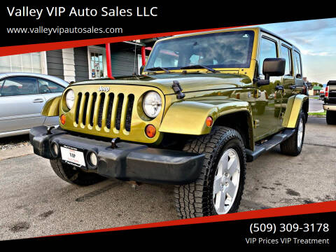 2007 Jeep Wrangler Unlimited for sale at Valley VIP Auto Sales LLC - Valley VIP Auto Sales - E Sprague in Spokane Valley WA