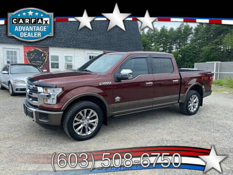 2016 Ford F-150 for sale at J & E AUTOMALL in Pelham NH
