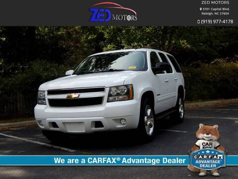 2011 Chevrolet Tahoe for sale at Zed Motors in Raleigh NC