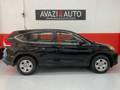 2013 Honda CR-V for sale at AVAZI AUTO GROUP LLC in Gaithersburg MD